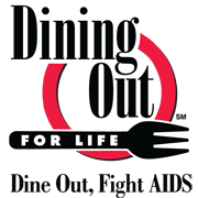 Dining Out for Life Logo for upcoming events page